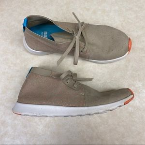 Native lightweight tan sneakers